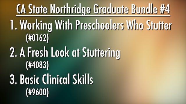 CA State Univ. Northridge Graduate Bundle #4