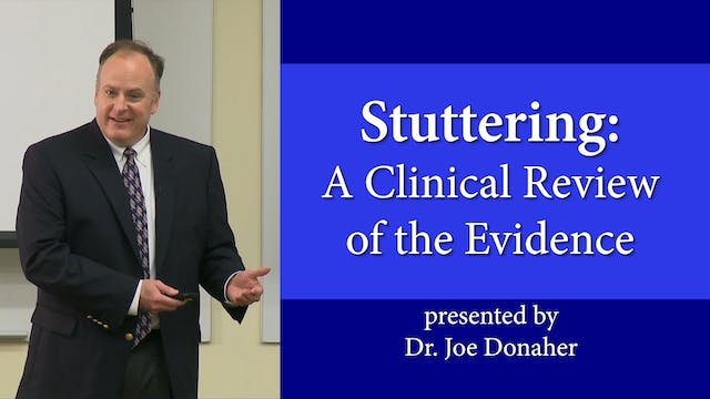 Stuttering: A Clinical Review of the Evidence
