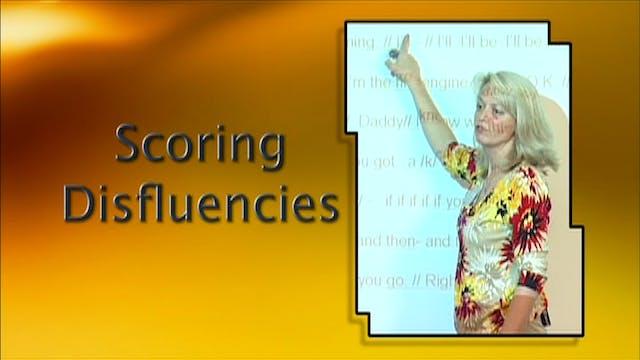 Scoring Disfluencies (#6350)
