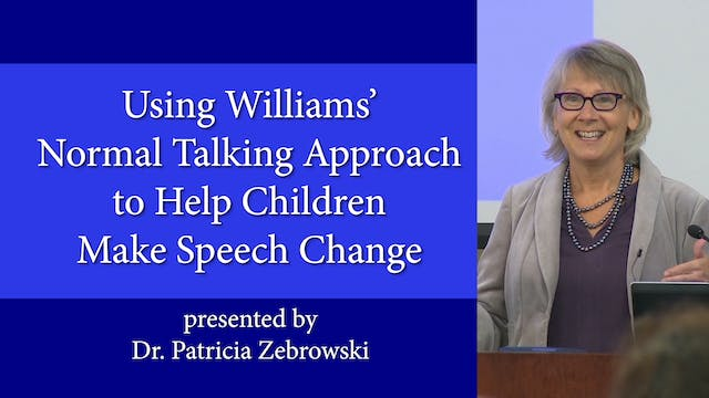 Using Williams' Normal Talking Approach (#6325)