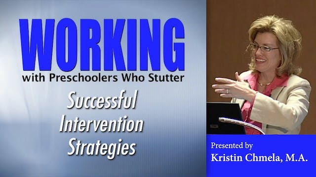 Working with PreSchoolers Who Stutter (#0162)