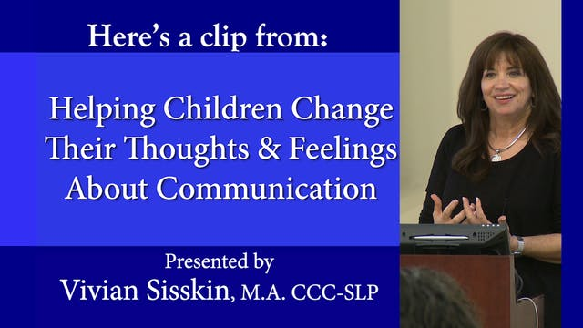 Helping Children Change Thoughts & Feelings