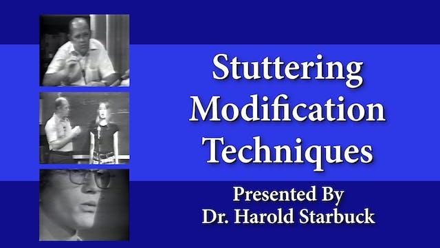 Stuttering Modification Techniques (#9221)
