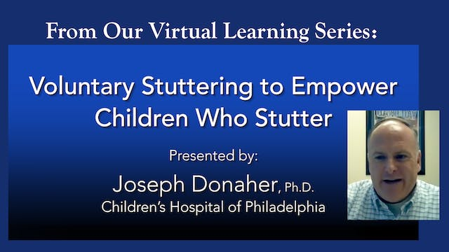 Donaher - Voluntary Stuttering to Empower CWS