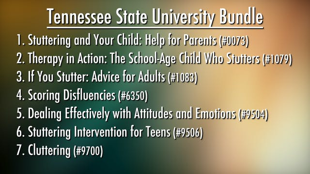 Tennessee State University Bundle