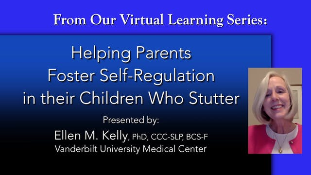 Helping Parents Foster Self-Regulation in CWS