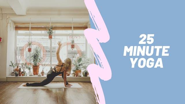 25 minute Yoga