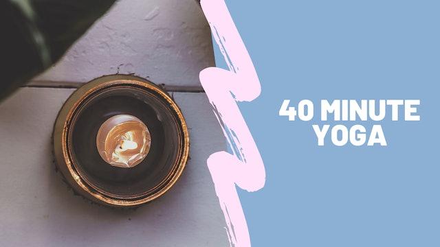 40 minute Yoga