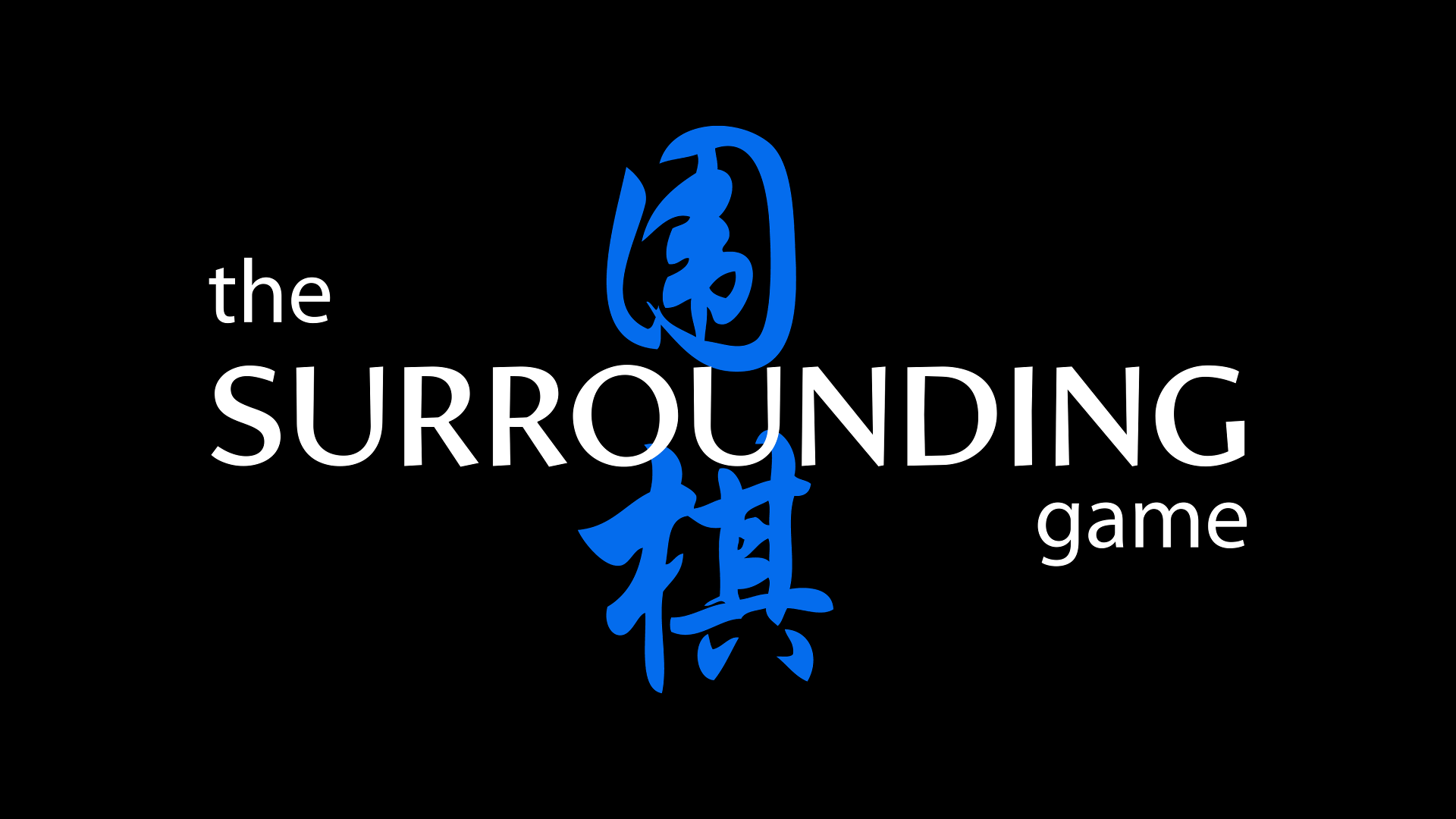 the surrounding game logo