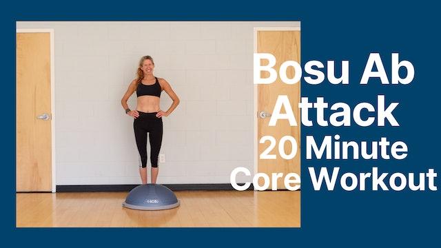 BOSU Ball Ab Attack