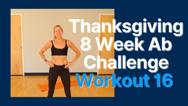 Thanksgiving Ab Challenge - Workout 16