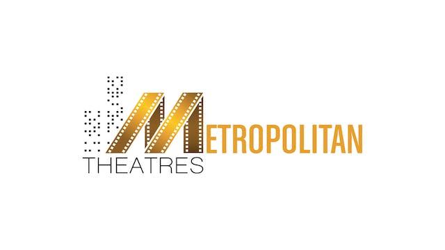 BILL CUNNINGHAM for Metropolitan Theatres