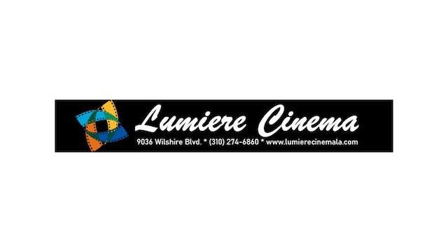 BILL CUNNINGHAM for Lumiere Cinema