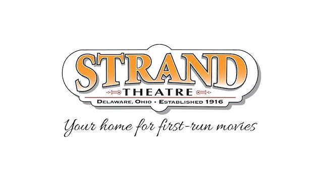 BILL CUNNINGHAM for Strand Theatre (Delaware, OH)