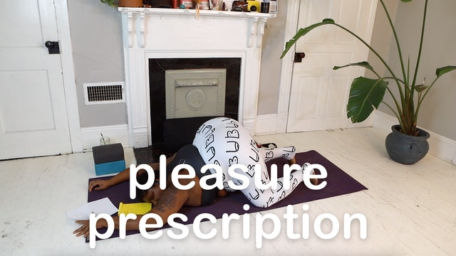 4. pleasure prescription