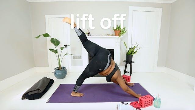 9. lift off