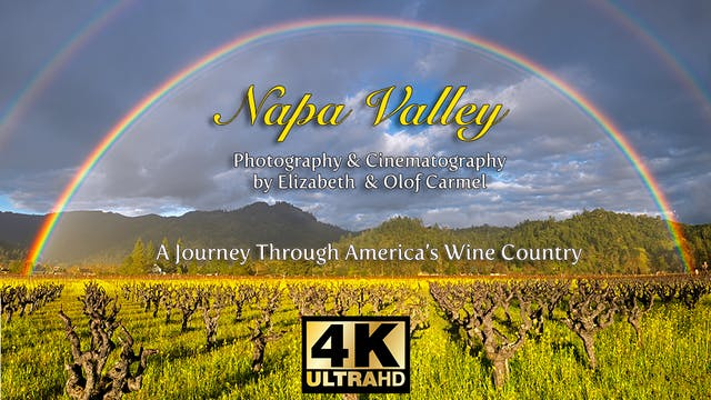 The Napa Valley in 4k