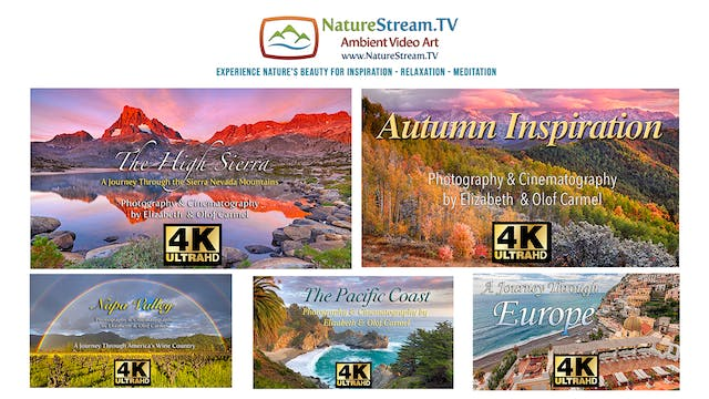 Special! Entire 5 Video 4k Collection for $75