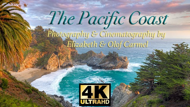 The Pacific Coast in 4K