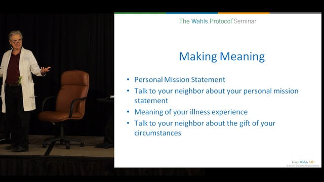 Creating Resilience Part 3, Terry Wahls, MD