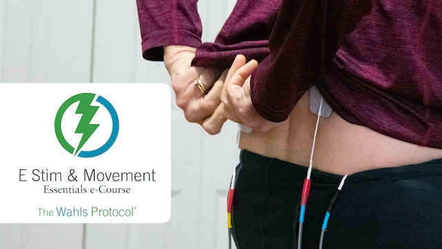 Wahls Protocol E Stim & Movement Essentials Course