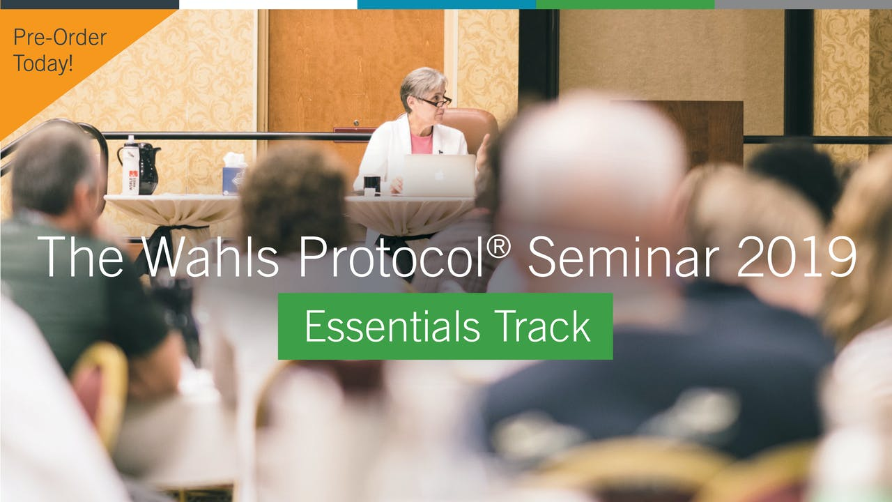 PRE-ORDER The Wahls Protocol Seminar 2019 Essentials
