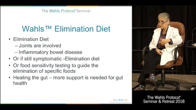 Wahls Elimination Diet & QandA