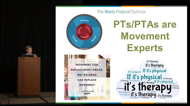 Pearls From a Physical Therapist,  Sheryl Poremba, PT, CCM