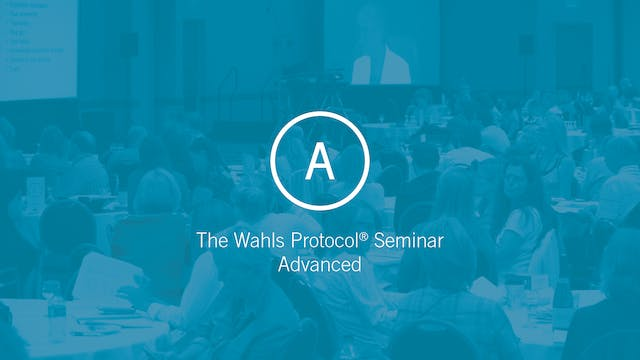 The Wahls Protocol Advanced Track
