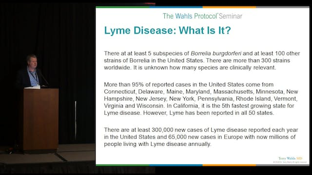 Lyme Disease and Infections in Autoimmune Disease Dr. Darin Ingles, ND