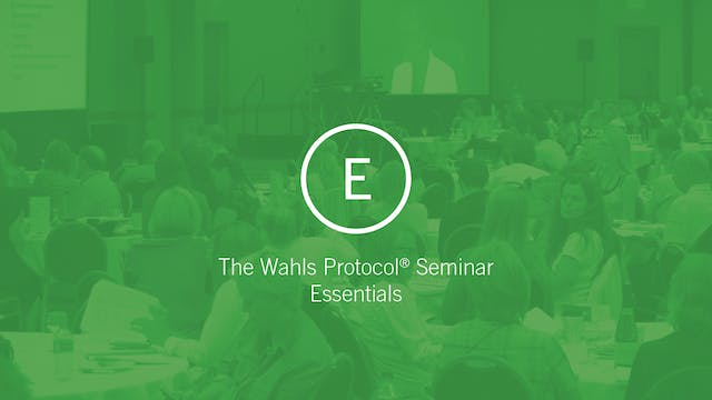 The Wahls Protocol Essentials Track