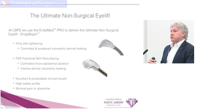Non-Surgical Eyelift, Chris Inglefield