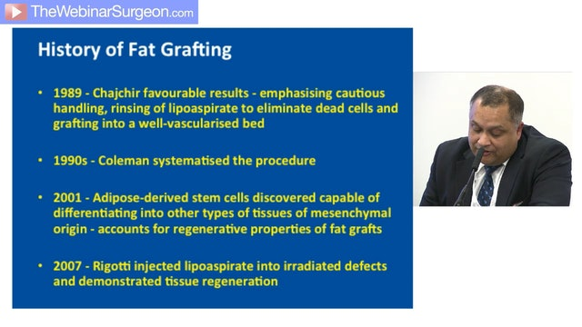 Fat Grafting to Hands, Kaushik Chakrabarty