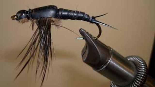 Bob Jacklin: Giant Salmon Fly Nymph