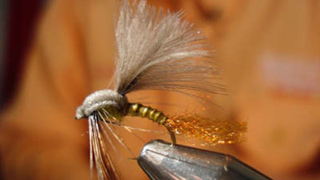 Chris Williams: CW's CDC & Foam Green Drake Emerger