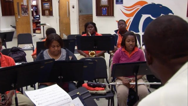 O. Perry Walker HS Concert Band Rehearsal