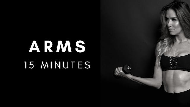 Arms + Weights 15 Minutes