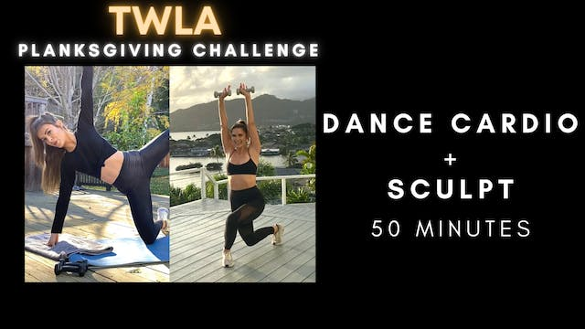 PLANKSGIVING DAY 4: Dance Cardio + Sc...