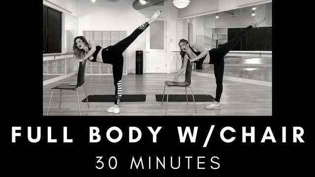 Full Body Chair Workout 30 Minutes