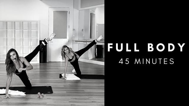 45 Minute Full Body Zoom Class 10/6