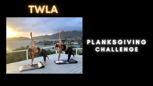 TWLA Planksgiving Challenge