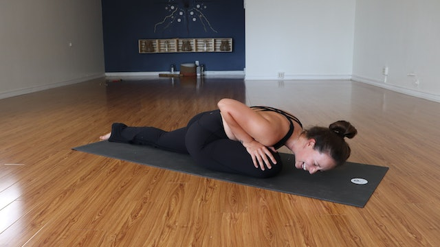 45-Minute Evening FLOW with Meagan - 7/06 Grounding, Supine, Seated FLOW