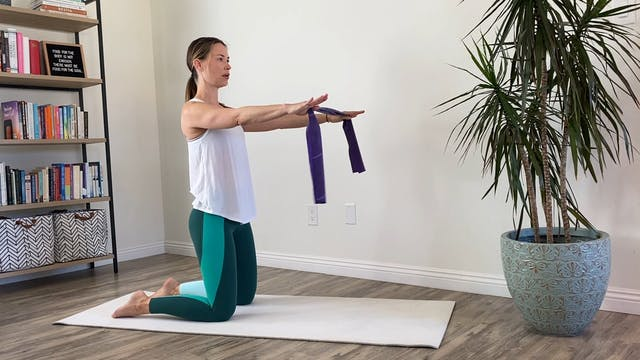 40-Minute Mat Pilates with Keary - Theraband