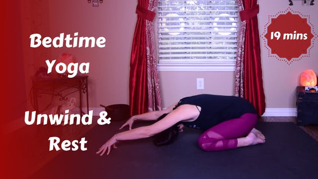 Bedtime Yoga | Unwind, Relax & Rest