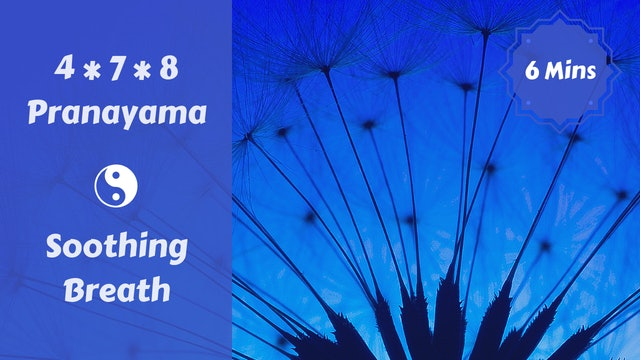 4 * 7 * 8 Pranayama | Soothing Breath