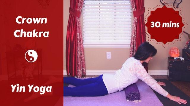 Crown Chakra Yin Yoga Snack