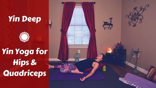 Intermediate Yin Yoga for Legs & Hips