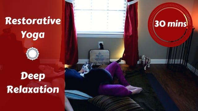 Restorative Yoga for Deep Relaxation