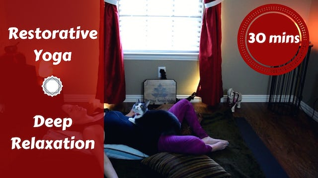 Gentle Restorative Yoga for Deep Relaxation