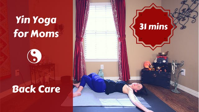 Yin Yoga for Caregivers | Back Care &...